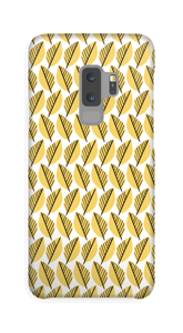 Lövverk i gul skal Galaxy S9 Plus