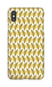 Feuillage jaune Coque  IPhone XS Max
