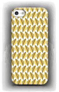 Keltaiset lehdet kuoret IPhone 5/5S