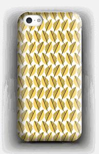 Keltaiset lehdet kuoret IPhone 5c