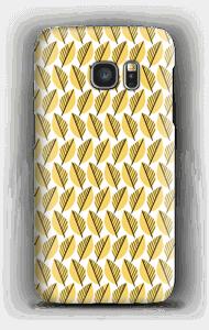 Yellow Foliage case Galaxy S7