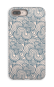 Squiggles  case IPhone 8 Plus tough