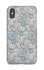 Meandro Rosa funda IPhone X