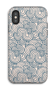 Squiggles  case IPhone X tough