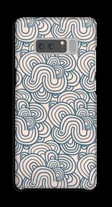 Snirkla i rosa skal Galaxy Note8