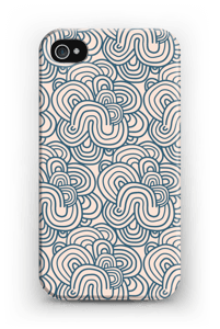 Squiggles  case IPhone 4/4s