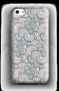 Roosat käyrät kuoret IPhone 5c