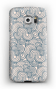 Squiggles  case Galaxy S6 Edge