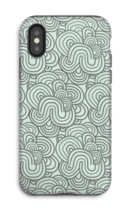 Squiggle  case IPhone X tough
