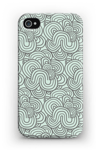 Squiggle  case IPhone 4/4s