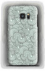 Grünes Muster Handyhülle Galaxy S7