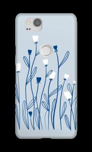Sinivalko kuoret Pixel 2