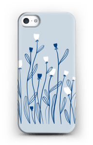 Sinivalko kuoret IPhone 5/5S