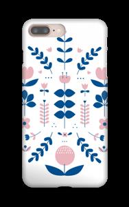 Symétrie florale Coque  IPhone 8 Plus
