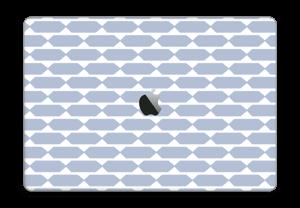 "Pavé bleu Skin MacBook Pro 15"" 2016-"