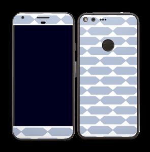Pavé bleu Skin Pixel XL