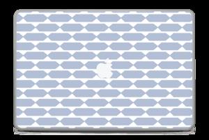 "Pavé bleu Skin MacBook Pro 17"" -2015"