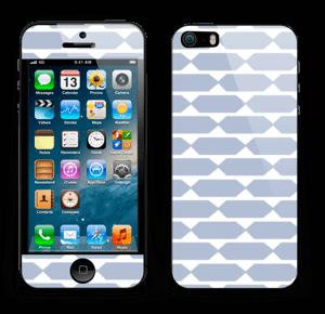 Pavé bleu Skin IPhone 5s