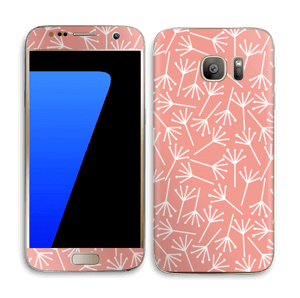 Paardebloem Skin Galaxy S7
