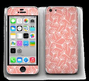 Koralli tarrakuori IPhone 5c