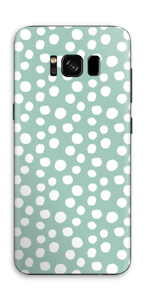 Pilkulliset tarrakuori Galaxy S8