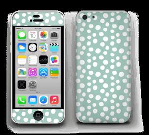 Pilkulliset tarrakuori IPhone 5c