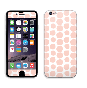 Galets roses Skin IPhone 6/6s
