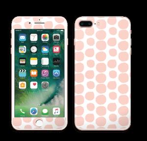 Galets roses Skin IPhone 7 Plus