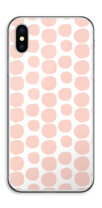 Galets roses Skin IPhone X