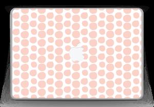 "Galets roses Skin MacBook Pro 13"" -2015"