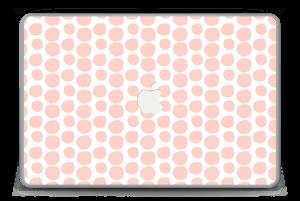 "Manchas Rosas Vinilo  MacBook Pro 15"" -2015"