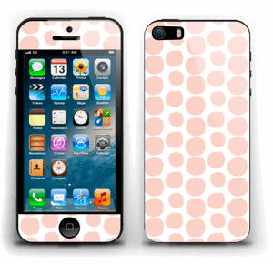 Galets roses Skin IPhone 5s