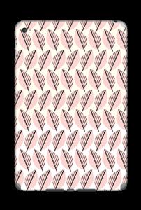 Vaaleanpunaiset lehdet tarrakuori IPad Mini 4