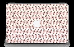 """Roze bladwerk Skin MacBook Air 11"""""""
