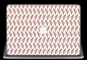"""Vaaleanpunaiset lehdet tarrakuori MacBook Pro Retina 15"""" 2015"""