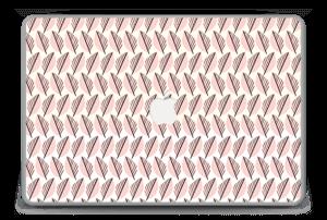"""Vaaleanpunaiset lehdet tarrakuori MacBook Pro 15"""" -2015"""
