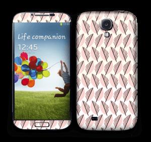 Pink Foliage Skin Galaxy S4