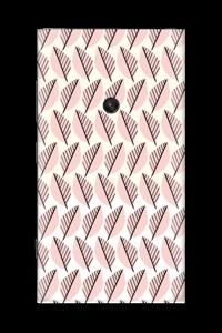 Roze bladwerk Skin Nokia Lumia 920