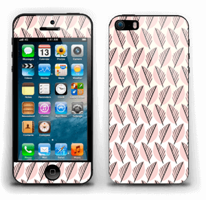 Pink Foliage Skin IPhone 5s