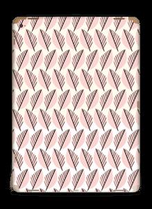 Roze bladwerk Skin IPad Pro 12.9