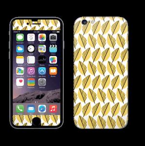 Keltaiset lehdet tarrakuori IPhone 6/6s