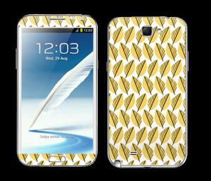 Automne Jaune Skin Galaxy Note 2
