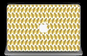 """Geel bladwerk Skin MacBook Air 11"""""""
