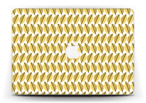 """Geel bladwerk Skin MacBook Air 13"""""""