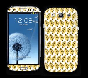 Keltaiset lehdet tarrakuori Galaxy S3