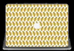 """Keltaiset lehdet tarrakuori MacBook Pro Retina 15"""" 2015"""