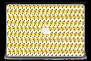 """Keltaiset lehdet tarrakuori MacBook Pro 15"""" -2015"""