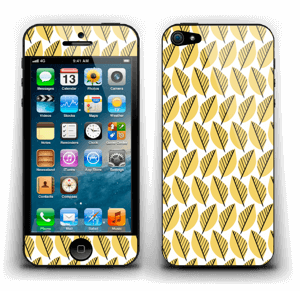 Geel bladwerk Skin IPhone 5
