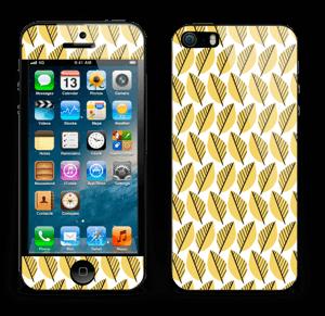 Automne Jaune Skin IPhone 5s
