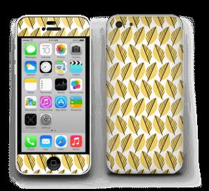 Keltaiset lehdet tarrakuori IPhone 5c